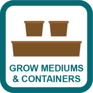 cannabis grow mediums & containers guides