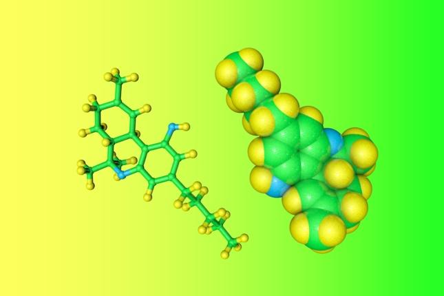 Dronabinol is a synthetic form of tetrahydrocannabinol, the primary psychoactive component of cannabis (marijuana)